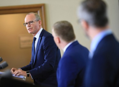 Coveney said the green list should be published next week.