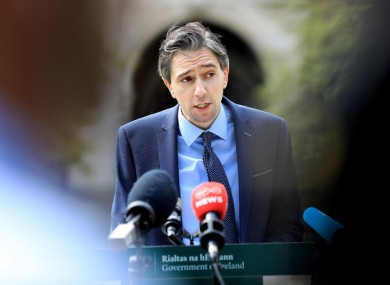 Minister for Higher Education Simon Harris earlier this week.