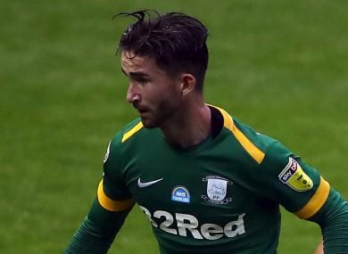 Preston North End's Sean Maguire.