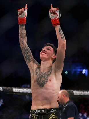 Rhys McKee is aiming high as he gets set to compete on the biggest stage in MMA.
