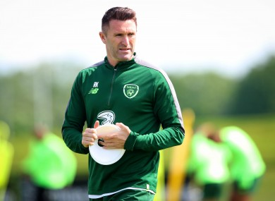 Robbie Keane, one of the graduates from the 2020 Pro Licence course at the FAI.