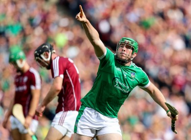 Shane Dowling celebrates his goal in the 2018 All-Ireland final