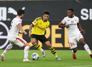 Jadon Sancho looks set to leave Dortmund this summer.
