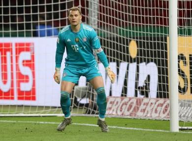 Manuel Neuer (file pic).
