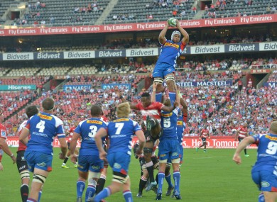Up in the air: South African teams like the Stormers (pictured) are in limbo.