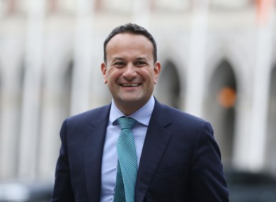 Leo Varadkar also announced the launch of new re-opening grants for businesses.