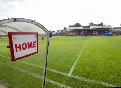 A view of Tolka Park.