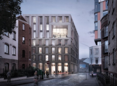 Co-living proposal for Dublin's Liberties region.