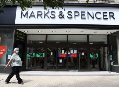 File photo. M&S branch in Bristol.