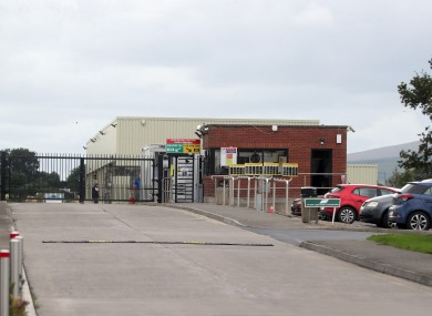 ABP meat processing plant in Cahir, Co Tipperary.