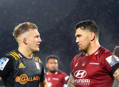 Damian McKenzie and Codie Taylor.
