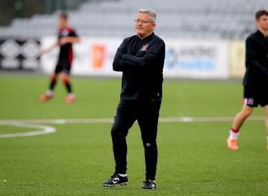 Dundalk first-team coach John Gill.