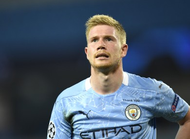 Kevin de Bruyne is regarded by many as the best player currently plying his trade in English football.