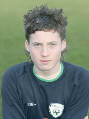 Matt Doherty during his days with the Ireland U15s squad.