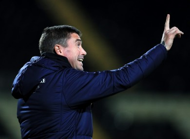 Kewell is Oldham's sixth manager in two years.