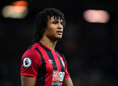 Nathan Ake at Bournemouth.