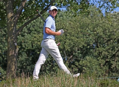Rory McIlroy at the BMW Championship.