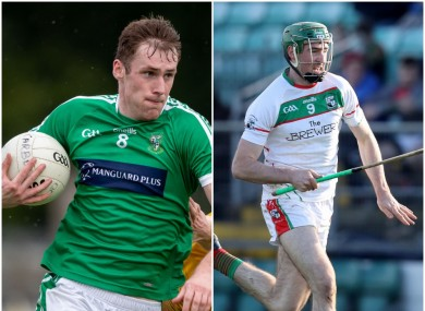 Kildare SFC side Moorefield and Laois SHC team Rathdowney-Errill are amongst the clubs affected.
