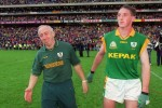Meath's Sean Boylan with Trevor Giles