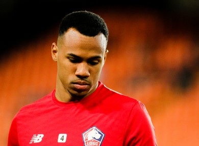 Gabriel Magalhaes of Lille OSC (file pic).