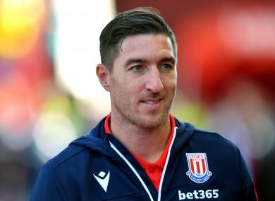 Ward spent a season at Stoke City.