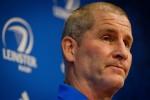 Leinster coach Stuart Lancaster.