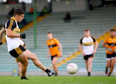 Tony Brosnan was the scoring star for Dr Crokes