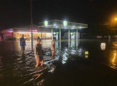 Myrtle Beach, South Carolina which was also hit by the weather event.