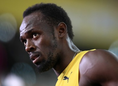 Usain Bolt (file pic).