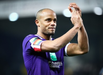 Vincent Kompany, after one of the final appearances of his playing career.