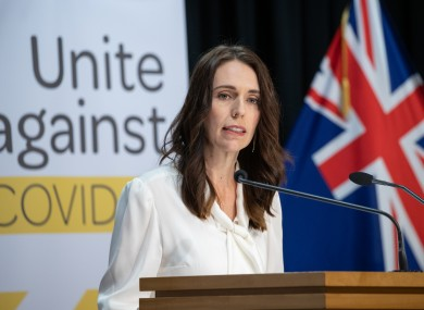 New Zealand's Prime Minister Jacinda Ardern    (file photo).