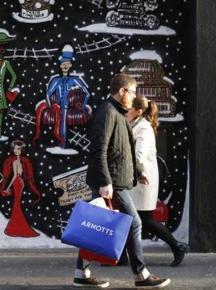 Christmas in Dublin last year.