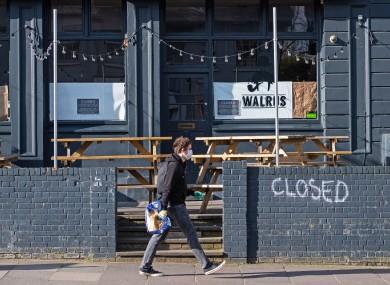 A closed pub in New Cross in London