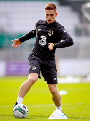 Ronan played nine times for the Republic of Ireland U21s last year under Stephen Kenny.