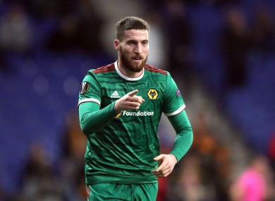 Matt Doherty (file pic).