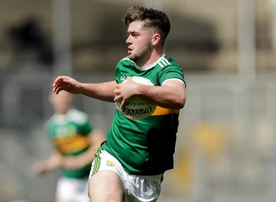 Beaufort's Jack O'Connor was the scoring hero for Mid Kerry.
