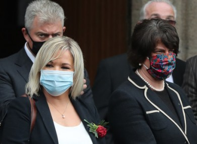 The measures were announced by Arlene Foster and Michelle O'Neill this evening.
