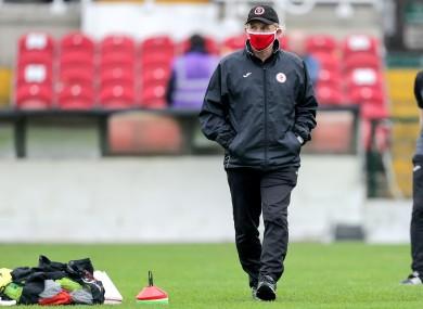Sligo Rovers boss Liam Buckley (file pic).