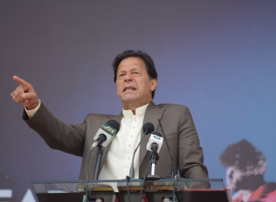 File image of Imran Khan