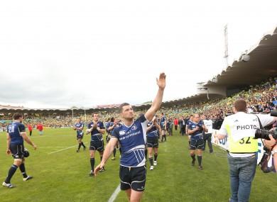 Waving goodbye: Kearney is leaving Leinster after 15 years.