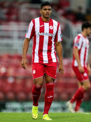 Ryan De Vries scored the winner at the Showgrounds (file pic).