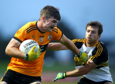 Sean Quilter (left - file photo) hit a crucial goal for Austin Stacks in today's final against Kenmare.