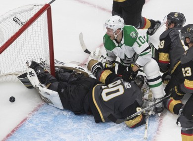 A 3-2 come-from-behind victory for the Dallas Stars over the Vegas Golden Knights.