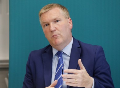 Minister Michael McGrath
