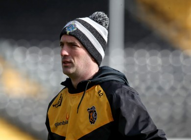 Kilkenny camogie boss Brian Dowling.