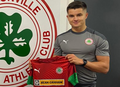 'Delighted': O'Connor signs for Cliftonville.