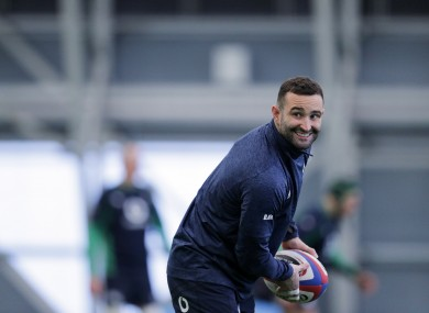 Leinster and Ireland wing Dave Kearney.