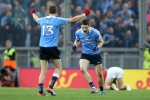 Dublin's Diarmuid Connolly celebrates at the final whistle of the 2016 All-Ireland final.