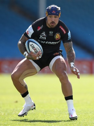 Exeter's Jack Nowell is winning his fitness battle