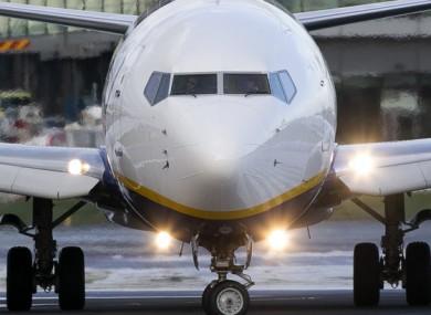 File image of a Ryanair plane.
